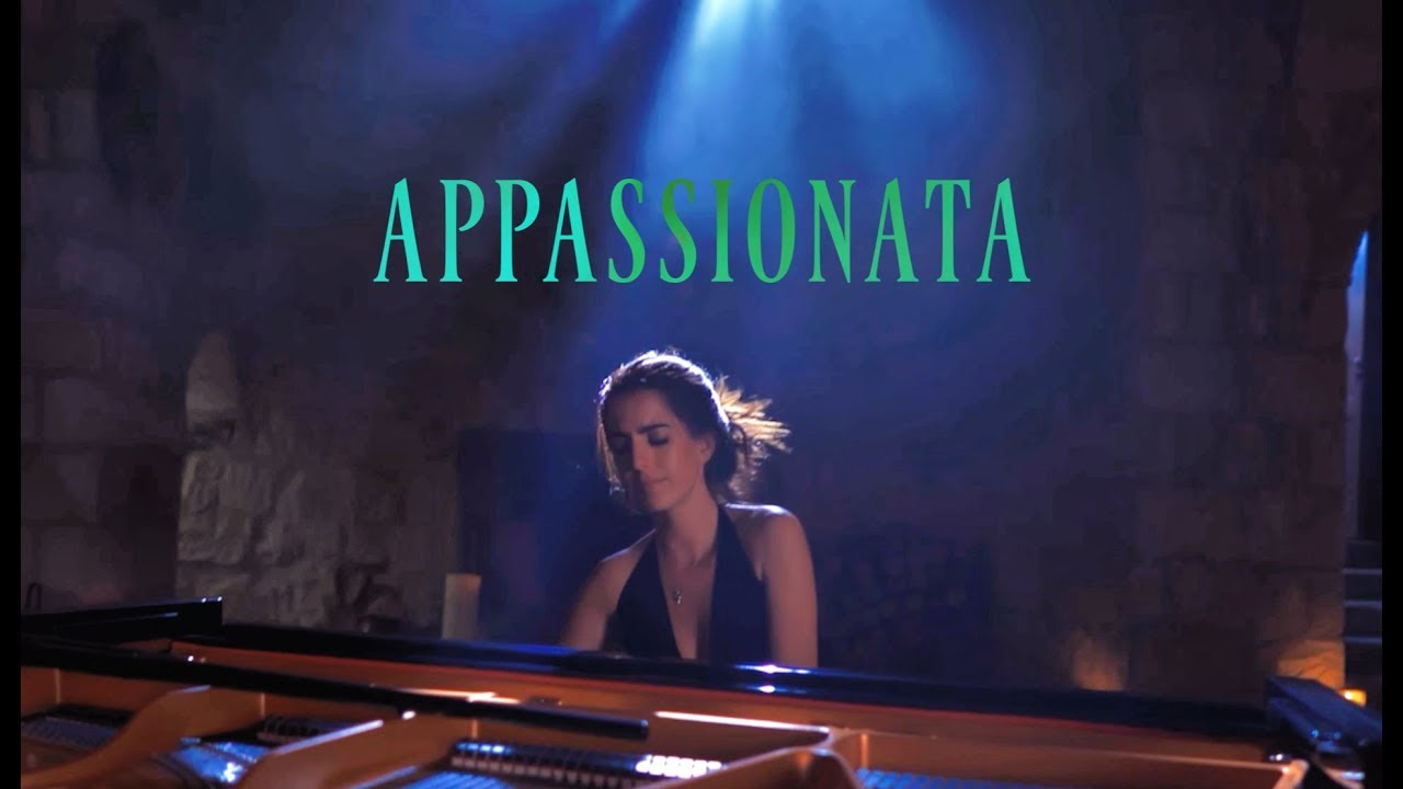 Beethoven's Appassionata in Spiritual Home of Monks, Cappadocia | Beethoven Senses | AyseDeniz
