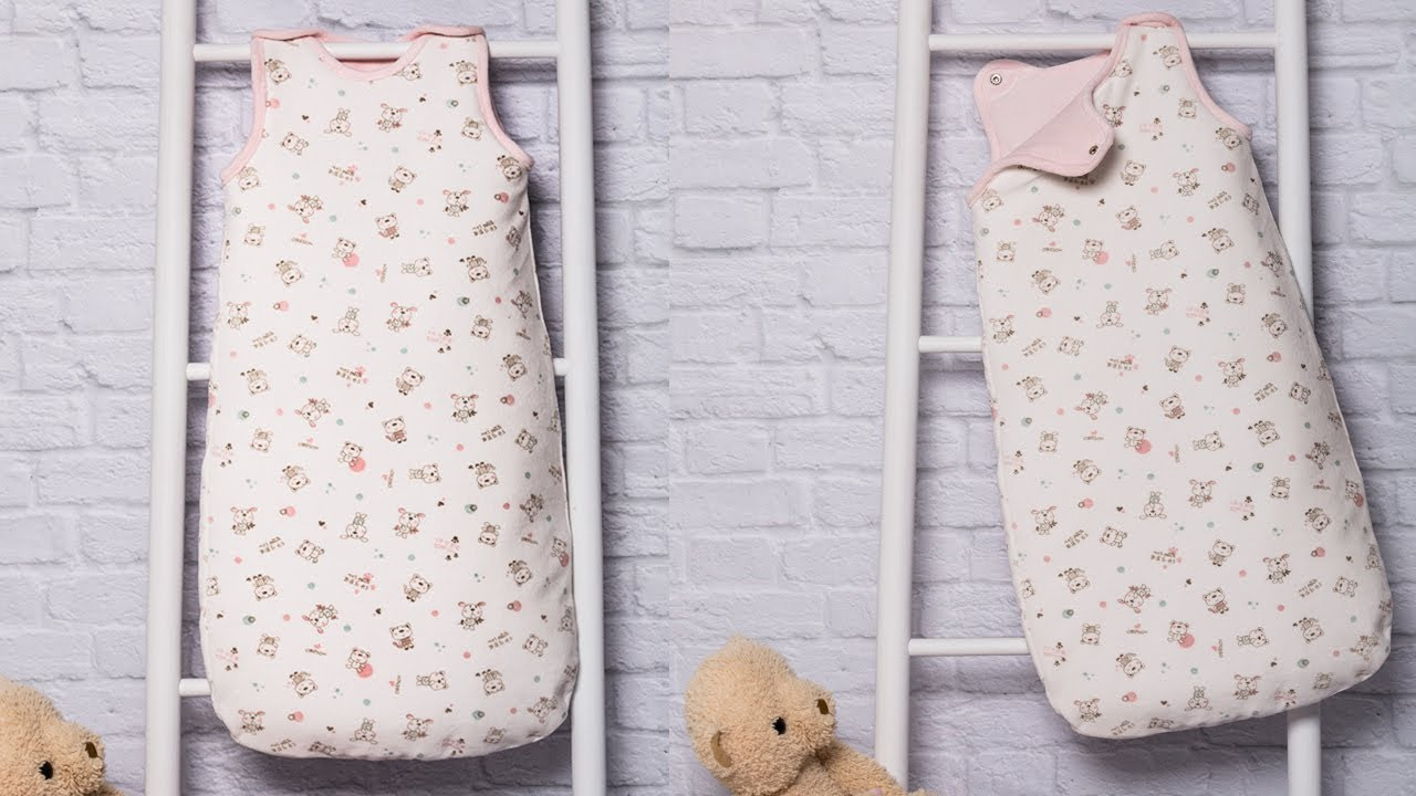 Saco de dormir para bebé. REVISTA PATRONES INFANTILES Nº 7 - YouTube