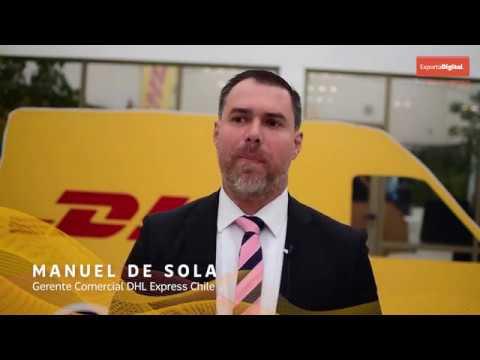 Manuel De Sola - Gerente Comercial DHL Express Chile