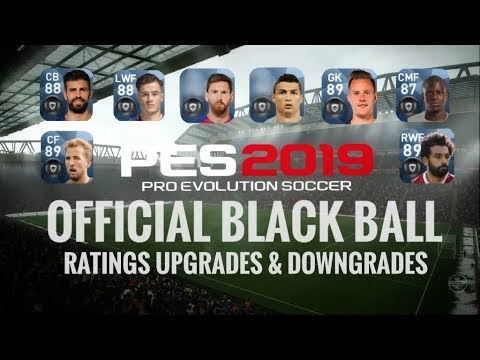 Pes 2019 Mobile Official Player Rating Upgrade || Officialpes