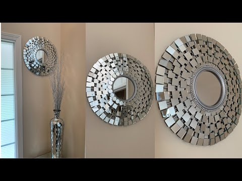💕 Glam Wall Mirror DIY || Super Easy & Affordable💕