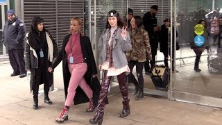 The lovely Bella Hadid at the Michael Kors ready to wear Fashion Show