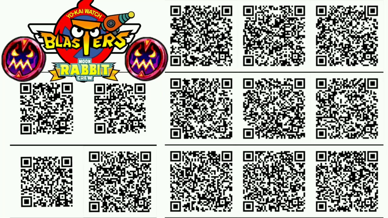 13 Yo Kai Watch Blasters Strength Coin Qr Codes Youtube