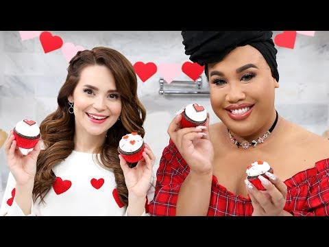 VALENTINES DAY CUPCAKES ft Patrick Starrr! - NERDY NUMMIES thumbnail