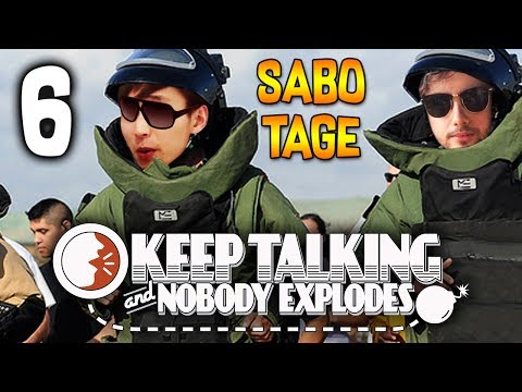 GORGC KEEPS SABOTAGING | Keep Talking and Nobody Explodes - PART 6