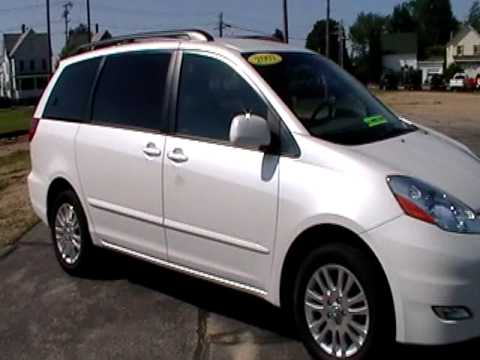 2007 Toyota Sienna Xle Family Van Awd Leather Www Nhcarman Com Mod