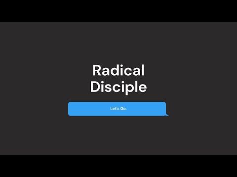 'Becoming like Jesus' with Richard Burgess | Part 7 - Radical Disciple | 7.3.21