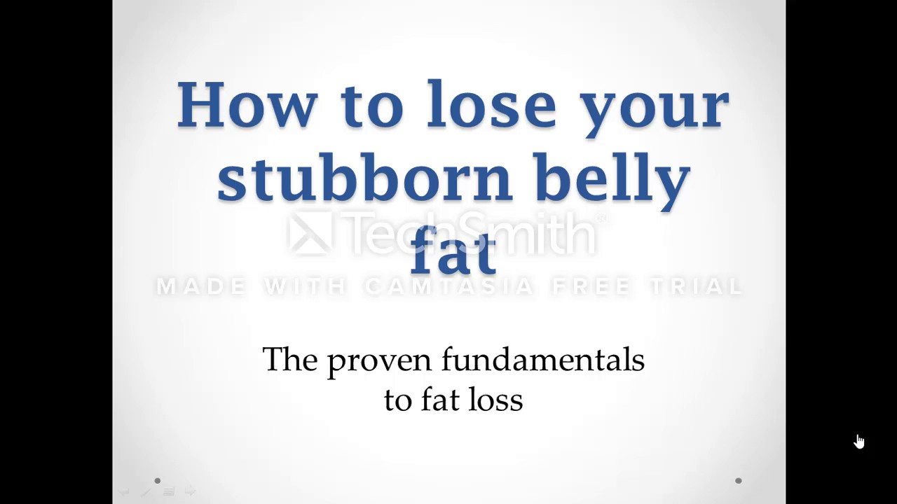 Proven Methods Get Rid Of That Belly Fat
