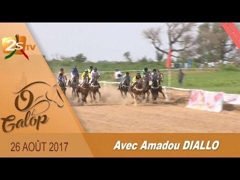 O GALOP DU 26 AOÛT 2017 AVEC AMADOU DIALLO