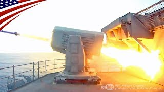 USS Ronald Reagan Launches Rolling Airframe Missile (RAM)