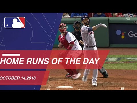 Home Runs of the Day - October 14, 2018