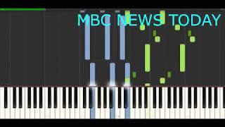 뉴스 오프닝 (피아노 커버) (익숙한 브금#001)
