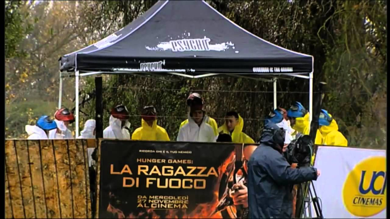PAINTBALL HUNGER GAMES (Roma - Smash Arena)