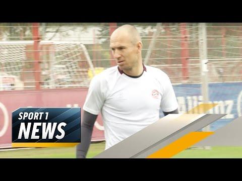 Müller lobt Robben-Frust   SPORT1 - Der Tag