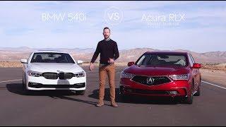BMW 540i vs. Acura RLX – Video Review Comparison