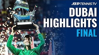 Djokovic captures a fifth Dubai title | Dubai 2020 Final Highlights