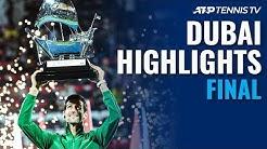 Djokovic captures a fifth Dubai title | Dubai 2020 Final Highlights