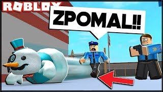 SUPER FAST SNOWMAN on the JAILBREAK! -HOW TO DO IT (ROBLOX Jailbreak)