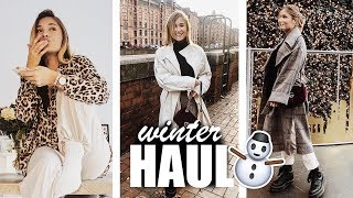 Herbst/ Winter HAUL, asos, h&m, zara + 1. AdventsVERLOSUNG | janasdiary