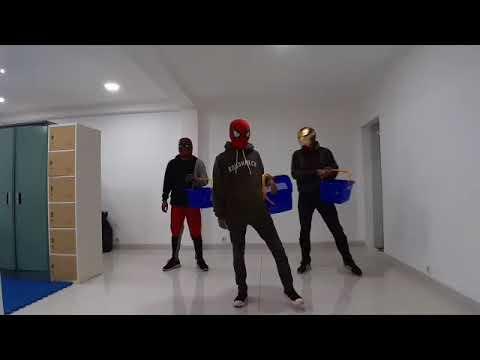 KERANJANG CHALLENGE (When Marvel heroes dance)