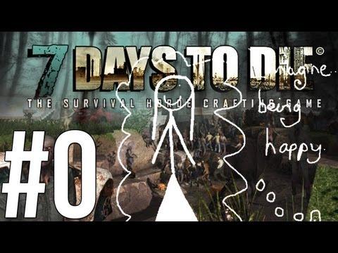 7 Days to Die - จิตนาการสำคัญฟ่า! - Alpha - (0) Co-op w/HeartRocker Part 2