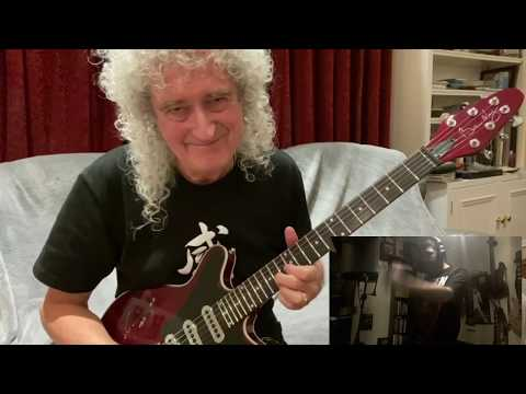 BRIAN MAY Challenges Alex VanTrue From One Vision LOVE OF MY LIFE - COVID-19