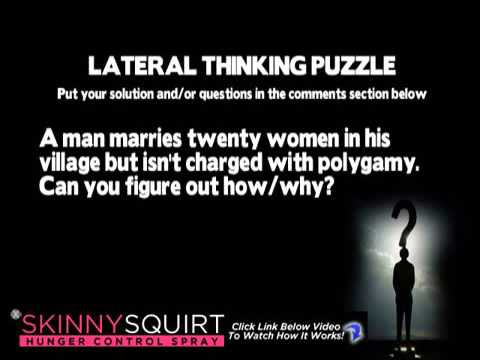 Lateral Thinking Puzzle - Can you solve this riddle? - YouTube