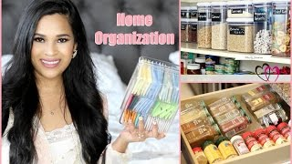 Spring Cleaning Organization Tips -  Kitchen And Bathroom Organization Misslizheart