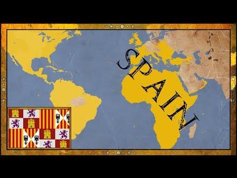 EU4 - SPANISH INQUISITION - Spain - Timelapse