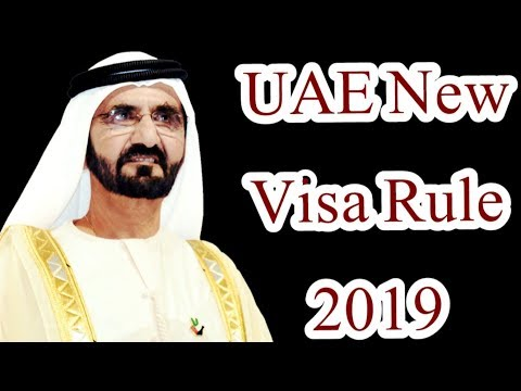 Good News - New Visa Rule for UAE Expatriates 2019