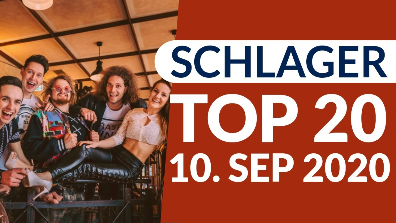 SCHLAGER CHARTS 2020 - Die TOP 20 vom 10. September