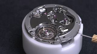 How a tourbillon works, presented by Hublot
