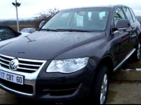 volkswagen touareg 3 0 v6 tdi tiptronic occasion en ile de france youtube. Black Bedroom Furniture Sets. Home Design Ideas