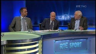 """Dunphy, Brady and Hamann on """"Keane & Vieira""""   RTÉ Soccer"""