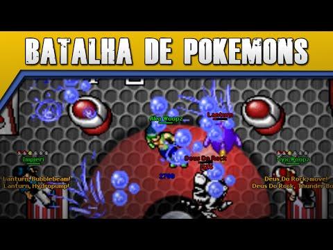 Batalha de Pokémons com Cateroide