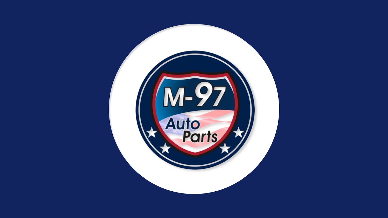 M 97 Auto Parts Bouncy Logo Youtube