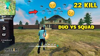 Sad Ending in Duo Vs Squad Ajjubhai Try Hard For Booyah - Garena Free Fire- Total Gaming
