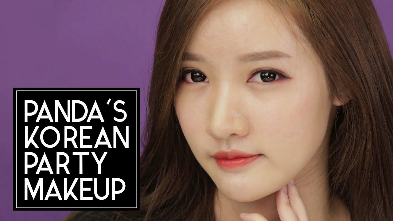 [Eng] U0e41u0e15u0e48u0e07u0e2bu0e19u0e49u0e32u0e44u0e1bu0e1bu0e32u0e23u0e4cu0e15u0e35u0e49u0e2au0e44u0e15u0e25u0e4cu0e40u0e01u0e32u0e2bu0e25u0e35(Korean Party Makeup) Feat. Panda - YouTube