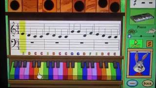 Reader Rabbit Second Grade Music Game! Video Request by: Odie Dog