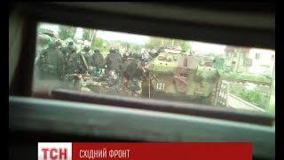 Силовики передали унікальне відео бою під Семенівкою