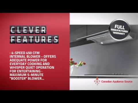 Elica egl ss under cabinet hood youtube