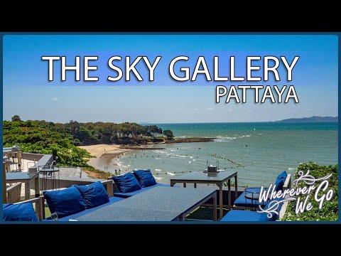 [ENG SUB] : THE SKY GALLERY PATTAYA   คาเฟ่ริมทะเล บรรยากาศดี วิวสวยเว่อร์   นั่งชิลล์ กินลม ชมทะเล