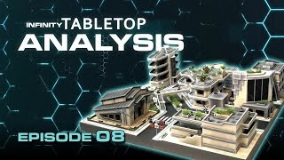 Infinity Tabletop Analysis Ep08: Future Square - Awesome Sci-fi Gaming Table