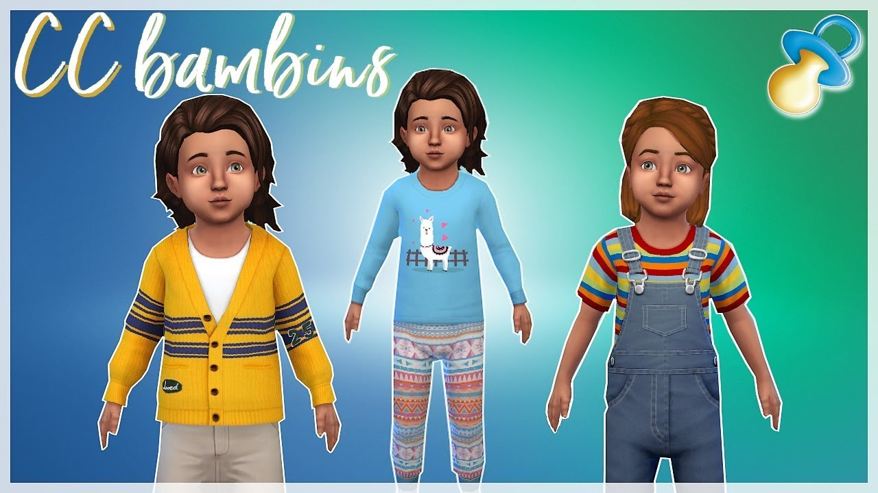 Cc Bambins Les Ccs De La Semaine 06 Les Sims 4