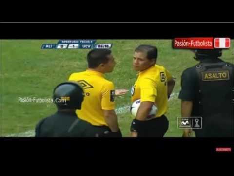 El ARBITRO   mas LADRÓN  del fútbol PERUANO.