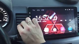 обзор на магнитолу Chogath Android 6 1 Mitsubishi Lancer x