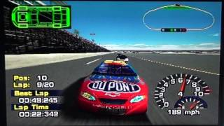 NASCAR Thunder 2004 [PS1] - Race 1/41 - Daytona 500