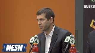 Brad Stevens On What Kemba Walker, Enes Kanter Bring To Celtics