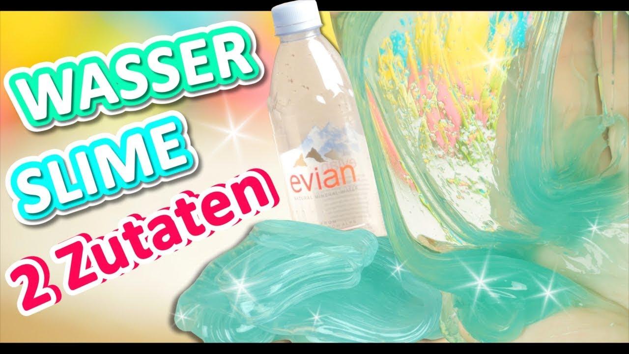 wasser schleim 2 zutaten ohne kontaktlinsenl sung selber machen slime diy deutsch let 39 stry 4k