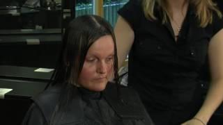 Учебен център Европа - Курс Фризьор, дистанционо обучение. Подстригване дълга коса. Long length cut.